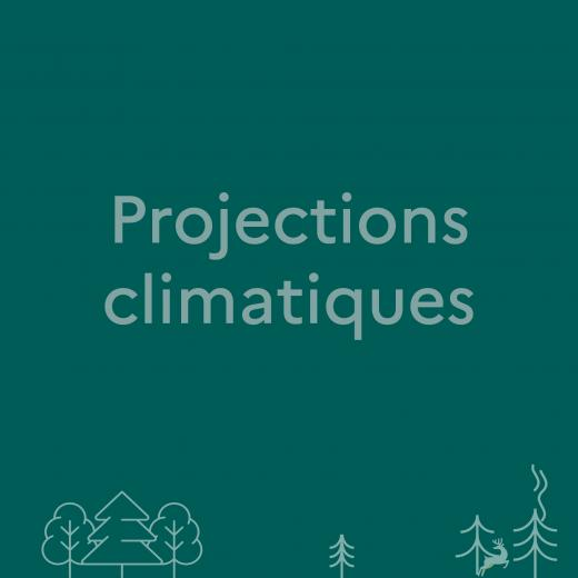 Lien pour avoir accès aux projections climatiques