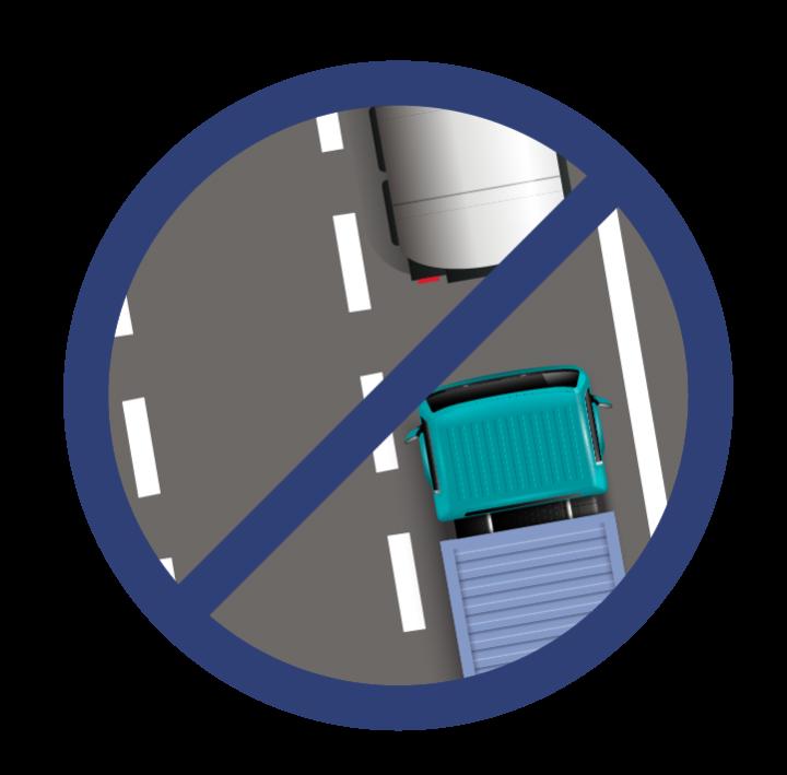 Respectez les distances de sécurité !
