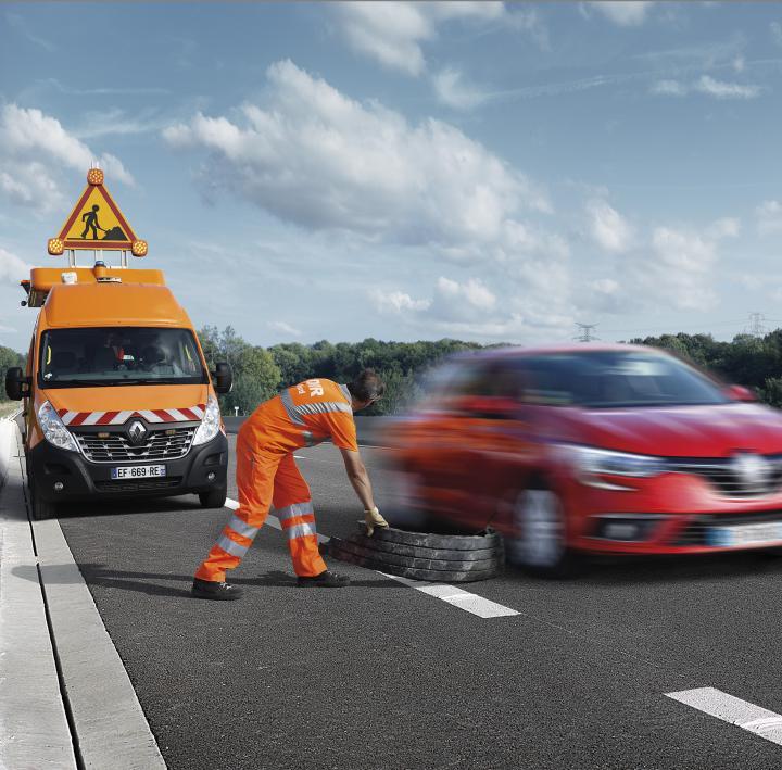 Vous aussi protégez les agents des routes !
