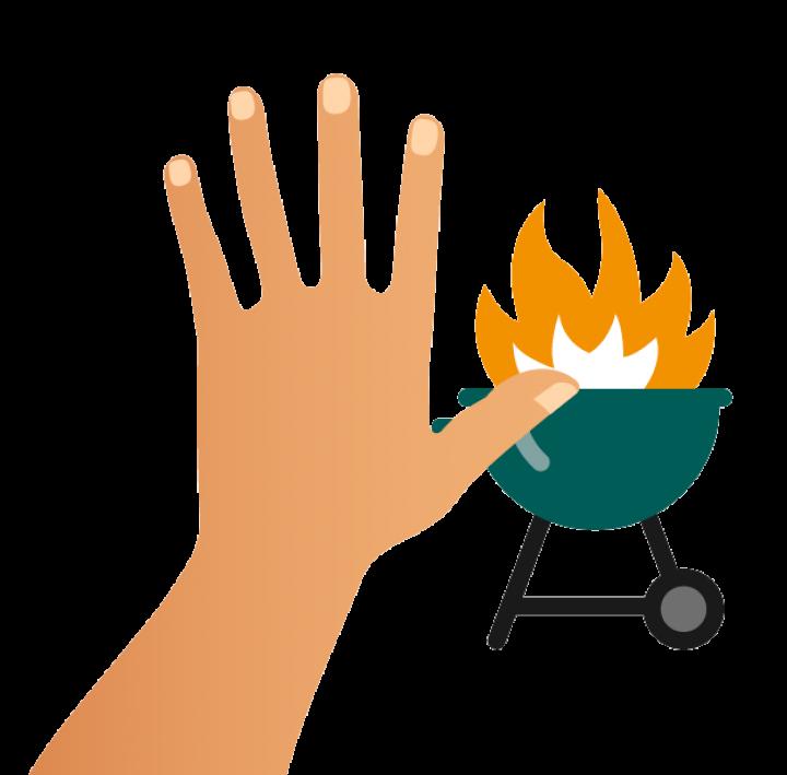 Ni feu, ni barbecue aux abords des forêts et des espaces végétalisés.
