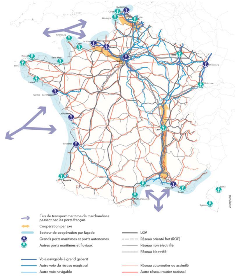 Carte France Villes Portuaires